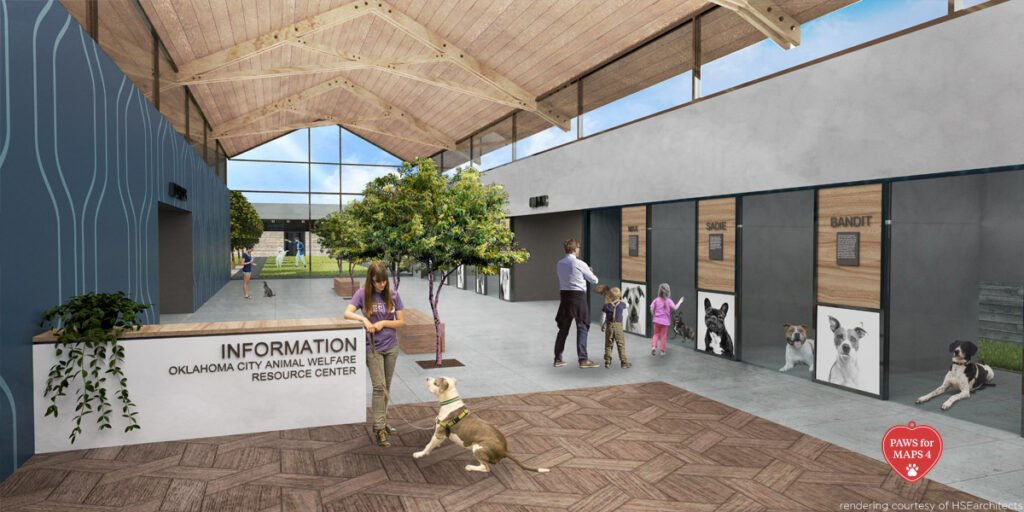 OKC animal shelter rendering